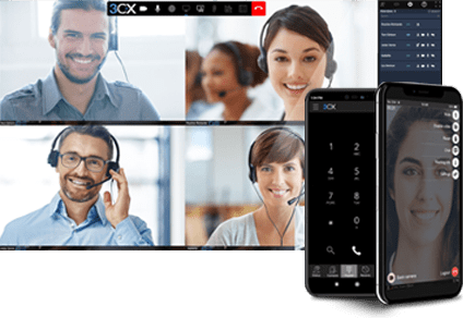 Cloud Telephony powered by 3CX
