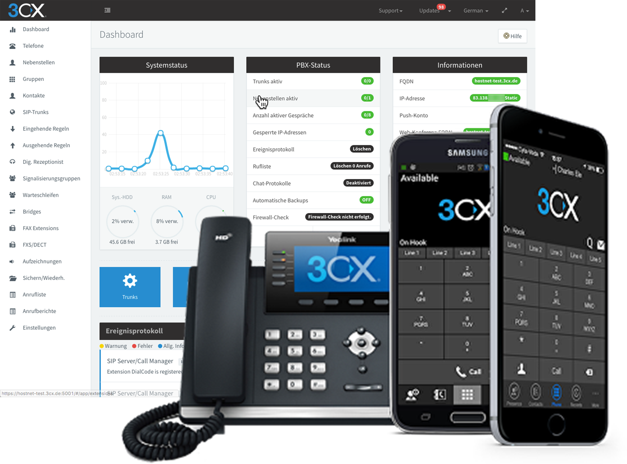 KCM Cloud Telephony